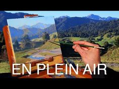 Painting En Plein Air - TOP TIPS for a successful scene! - YouTube