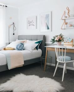 Fantastic Teen Bedroom Ideas to Inspire You : teen-room-pictures - designwebi.com