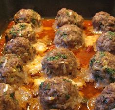 WWW.COOKINGCLUB.GP: MORE CHEESE STUFFED MEATBALLS