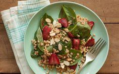 Roasted Strawberry Salad #HealthyLifestyle #CleanEating #ShaysHealthyLifestyle