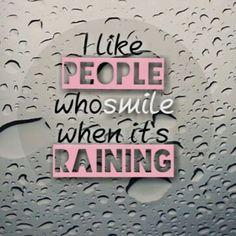 "QOTD :""I like people who smile when it's raining"" Pic : Chanyeol instagram"
