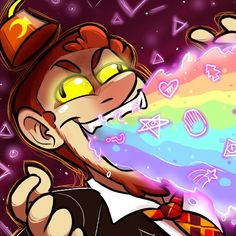Because I love Alex Hirsch for barfing rainbows and mysterious mysteries