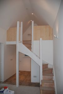 Storage ideas for garage conversion to tiny house. Building a Tiny House blog
