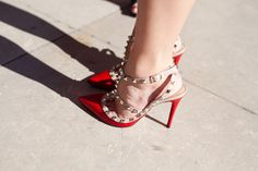 Valentino Rock Stud Pumps http://rstyle.me/~I2ip