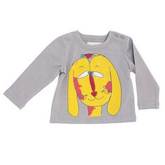 Long Sleeve T Shirt with Clover Dog Print by Nadadelazos - Junior Edition www.junioredition.com