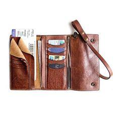 da0e56a05c trifold-wallet SOLO PER TE 114177 - NEWCHIC Mobile Cinghia In Pelle,  Portafogli In