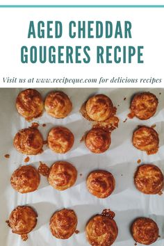 Light, airy, warm, cheesy gougères. These little Burgundian treats are addictive! They're a great snack to start dinner off with and also the quintessential wine tasting bite. The cheeses used in these extravagant yet straightforward morsels pair superbly with red wines.  #gougeres #cheddar #snack #pateachoux