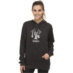 Oakley Yankees Pullover Women's Sweatshirt, Gray ($28) ❤ liked on Polyvore