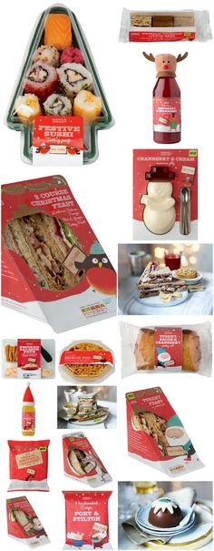 Marks and Spencer Christmas collection #packaging PD