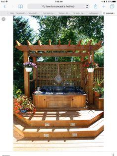 Holz pergola garten abgeschragtes dach ingerierte for Gartenpool dortmund