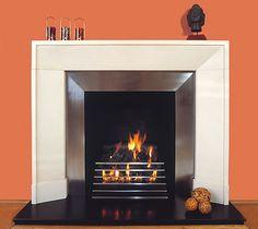 contemporary fireplace surround ideas cast concrete mantel