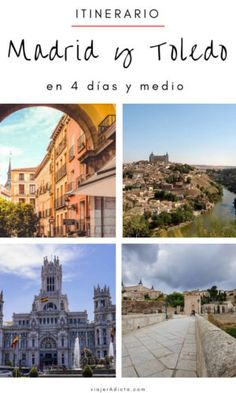Itinerario-madrid-toledo-4-dias-y-medio Budapest, Eurotrip, Spain, Europe, Vacation, Mansions, House Styles, Building, Places