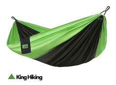 Lightweight Hammock - Nylon Hammock - Triple Interlocked Stitching - Perfect for Camping, Hiking, Hunting, Backpacking