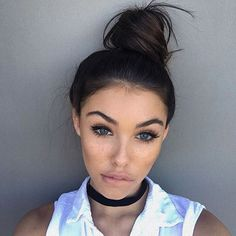 Get Madison Beer's look! Shop our Black Suede Choker on sale now at Jewel Cult!