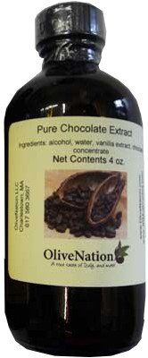 Pure Chocolate Extract by OliveNation - Kosher Certified, Gluten Free Flavored With Caramel - 4 oz Just For $3.55 ** Check out the image by visiting the link.