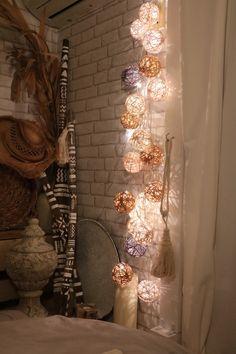 コロコロと可愛い間接照明が、プチプラで作れちゃう♬