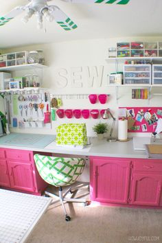 Office craftroom tour Vintage Studio Tour Part The Howjoyful Sewing Room Pinterest 407 Best Office Craft Room Eye Candy Images In 2019 Offices