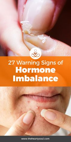 Mood swings? Acne? You could be suffering from a hormonal imbalance.