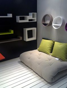 japanese small bedroom futon design ideas - Google Search