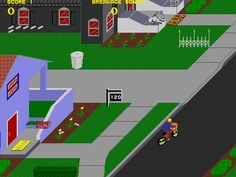 Paperboy - I still remember playing this at my bf's house!