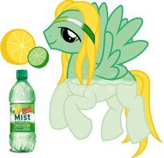 Sierra Mist Soda Pony by equinepalette on DeviantArt Mlp My Little Pony, My Little Pony Friendship, Mlp Deviantart, Flurry Heart, Equestrian Girls, Imagenes My Little Pony, Mlp Pony, Cute Doodles, Mists