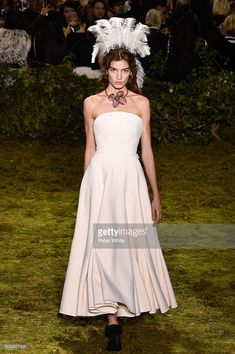 A model walks the runway during the Christian Dior Spring Summer 2017 show as part of Paris Fashion Week on January 23, 2017 in Paris, France.
