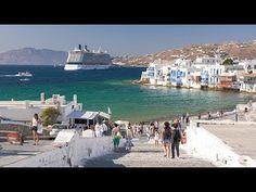 Greek Islands: Santorini, Mykonos, and Rhodes - YouTube Mykonos, Santorini, Rhodes, Most Beautiful Greek Island, Rick Steves Travel, Places To Travel, Places To Visit, Greek Islands To Visit, Paradise On Earth