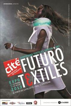 Futurotextiles - Cité des sciences et de l'industrie - février 2013