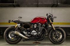 The Sinner: this Yamaha XJR1300 by Macco Motors is devilishly good.