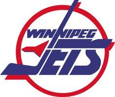 edmonton oilers logo outline Winnipeg Jets Primary Logo - Jets in blue inside red and . Jets Hockey, Hockey Teams, Ice Hockey, Nhl Logos, Hockey Logos, Sports Logos, Sports Teams, Logo Outline, Nhl News