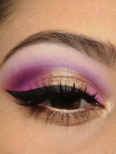 5 Makeup Madness Tips #gold #purple #eyeshadow