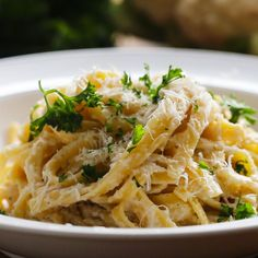 Cauliflower Alfredo Recipe by Tasty