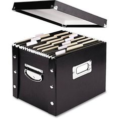 Snap-N-Store Storage Box, Black - Available in Letter or Legal Size - Walmart.com
