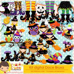 Kit digital Doce bruxas http://acriativo.com/loja/index.php?main_page=product_info&cPath=34&products_id=779