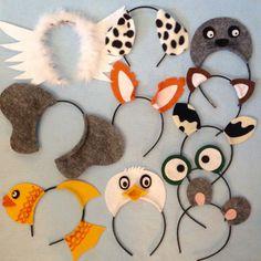 What Does A Fox Say animals theme ear headband birthday party