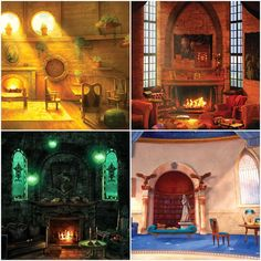 Ravenclaw looks like my dream library, like the library of Alexandria Gryffindor looks like a warm cozy hang out room Hufflepuff looks like a kitchen and a comfy space to eat in And slytherin just looks like a physical manifestation of asthetic Harry Potter Magic, Harry Potter Houses, Harry Potter Facts, Harry Potter Fan Art, Harry Potter Universal, Harry Potter Fandom, Harry Potter World, Imprimibles Harry Potter, Very Potter Musical