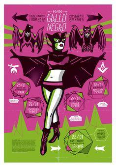 Gallo Negro (Mexico) Poster Art: Dr Alderete