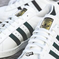 The Adidas Originals Superstar is going strong in 2015! Lots of great colorways on the way. And of course, you can't go wrong with black and white.