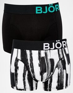 Bjorn Borg 2 Pack Ritual Paint Trunks