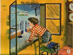 ilclanmariapia: I poster a scuola Through The Window, Vintage Art, Images, Painting, Vintage Illustrations, Post Card, Posters, God, Alphabet