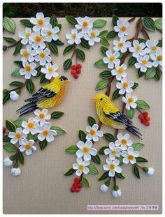고급 6강인 새는 우연히 보게되었던 노랑새가 너무 예뻐 노랑새로 표현해서 만들어 봤습니다~^^ (...