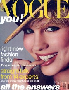 Rosie Vela  -  Vogue June 1978 by Avedon