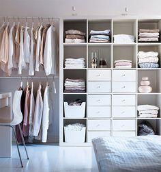 Mulig-vaatetanko, Expedit-hylly, Ikea