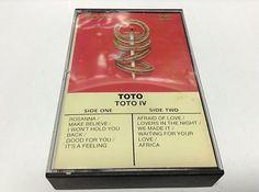 TOTO tape cassette TOTO IV album 1982 cbs records canada                          $3.49