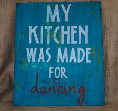 Daily!!!! This is a need and must for my kitchen! What's better than cooking and dancing??!
