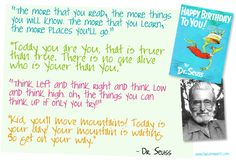 Happy Birthday to Dr. Seuss who has impacted generations; here are a few of my favorite rhymes for your inspiration. Dr. Seuss, Diy Entertainment Center, Entertainment System, Video Games For Kids, Kids Videos, Student Portal, Healthy Cat Treats, Diy Tv, My Escape