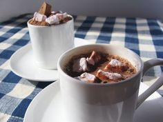 Spanish Style Hot Chocolate With 4 Flavors Of Marshmallows - Dairy and Gluten Free - 8 oz. $10.99, via Etsy.