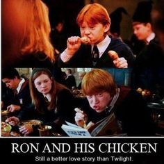 Him and his chicken