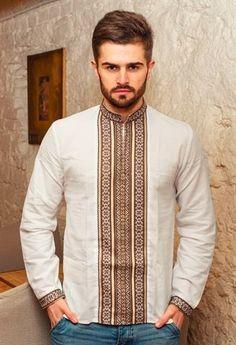 Mens Fashion Wear, Look Fashion, Fashion Design, African Attire, African Wear, Sewing Men, Mexican Fashion, Folk Costume, Men Looks