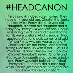 this is great!<<<Seriously why does everybody name Annabeth and Percy's kid Charlie?